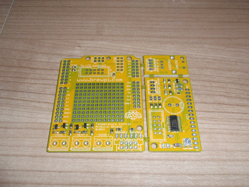 You can also order the board with only the SMT components assembled.