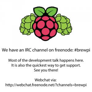 Link to webchat:http://webchat.freenode.net/?channels=brewpi
