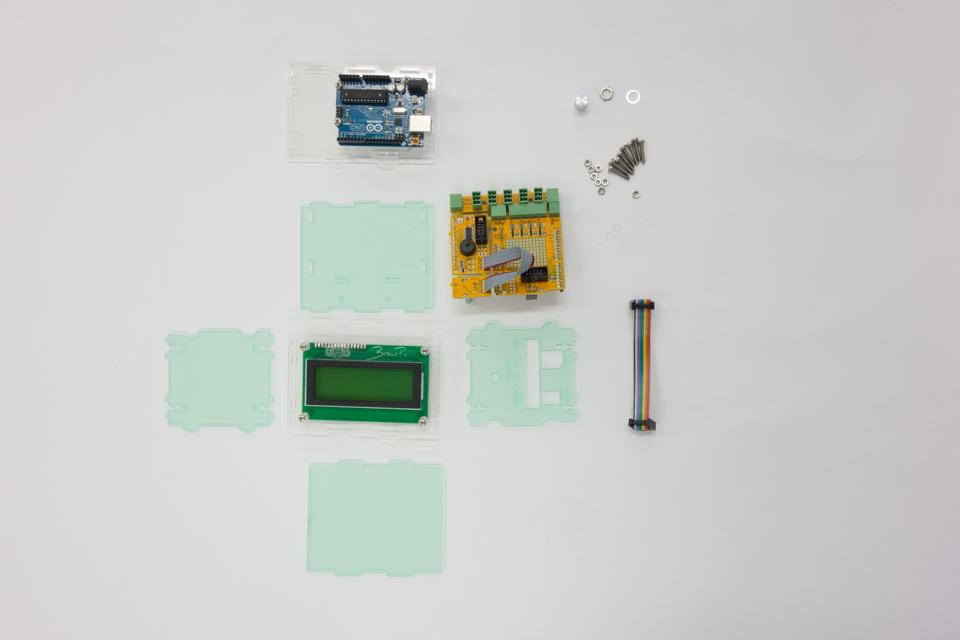 Arduino case parts and internals