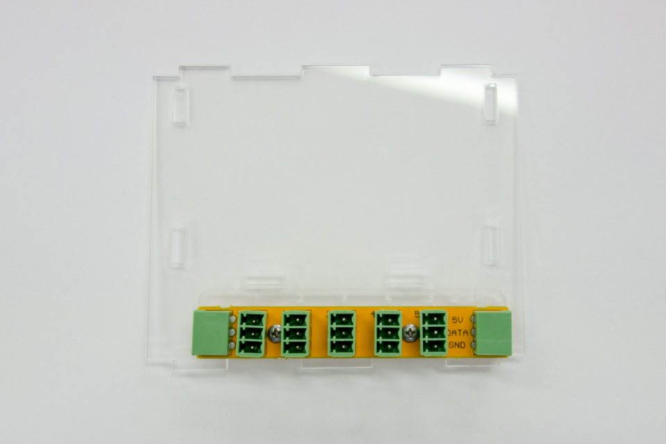 OneWire board on top panel
