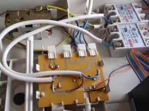 Original fridge circuits hacked