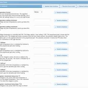 All settings are easily configured from the web interface