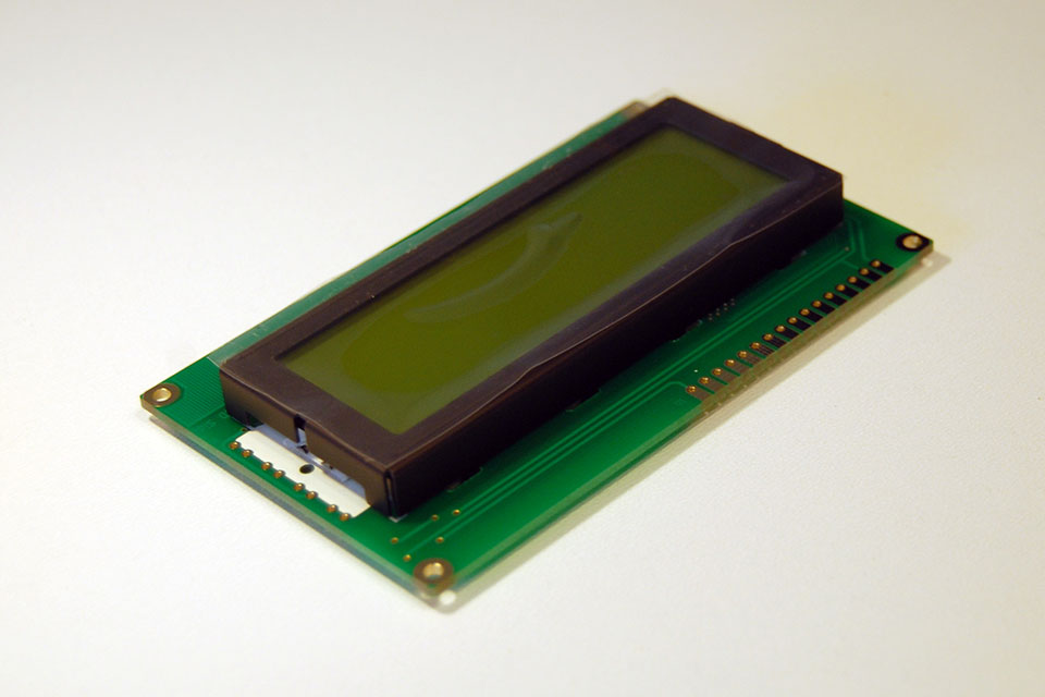 Get your LCD.