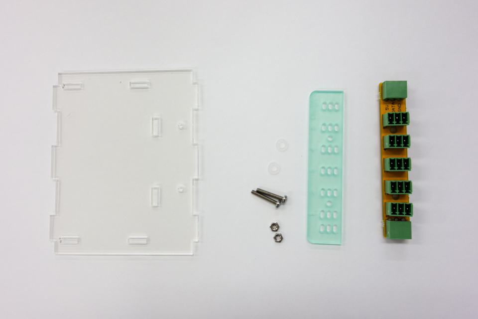 OneWire distribution board and top panel