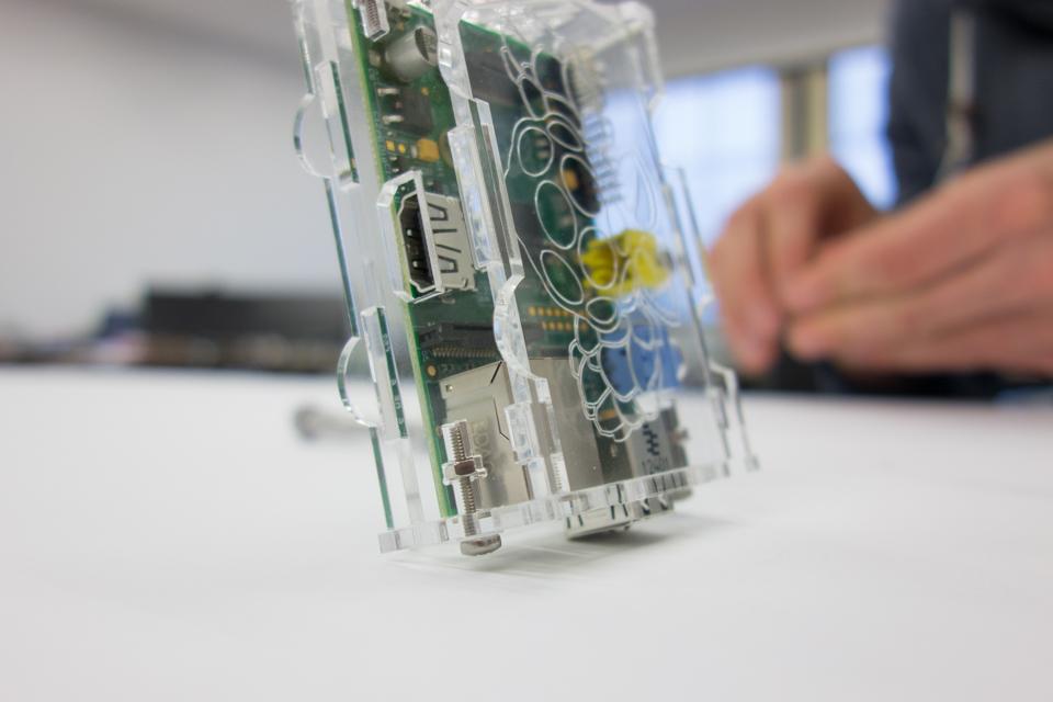 Raspberry Pi case final step